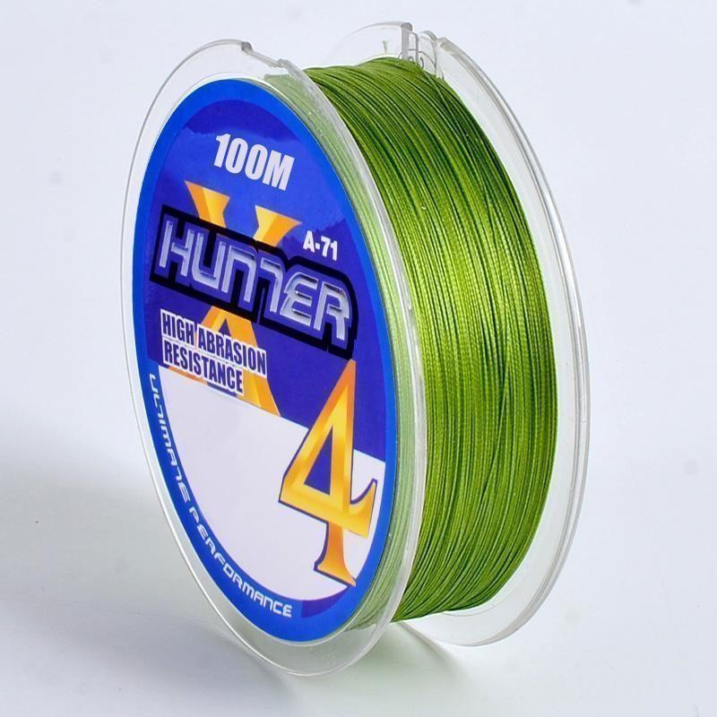 LINHA MULTI HUNTER 4X VERDE - 100 M - 0,29 MM - 36 lb